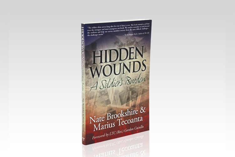 Hidden Wounds Book Design and Layout
