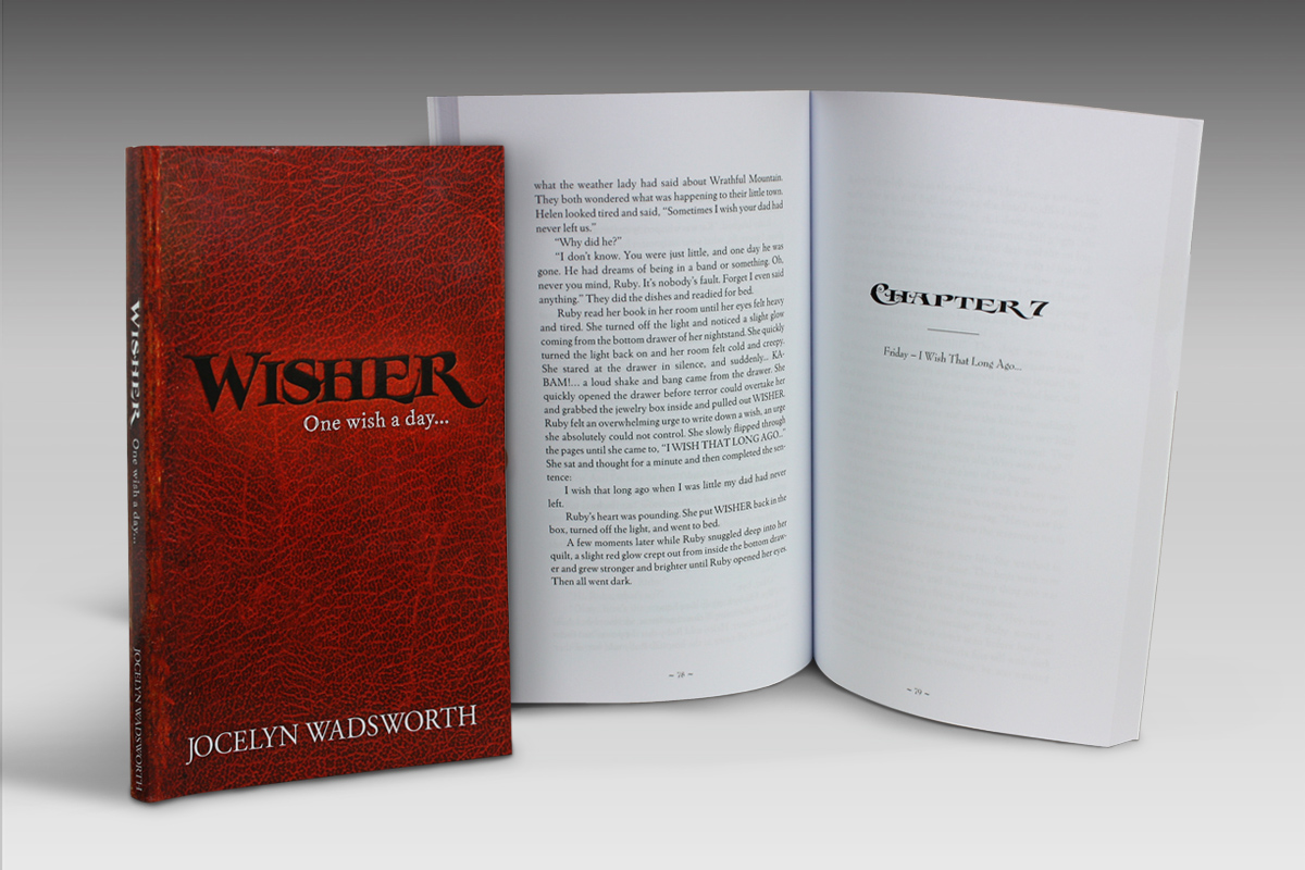 Book Design and Layout for Wisher