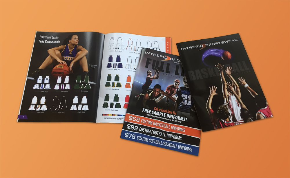 Sports Catalog Designs, Seattle