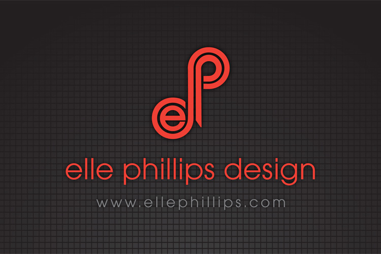 Logo Design and development for Elle Phillips Design