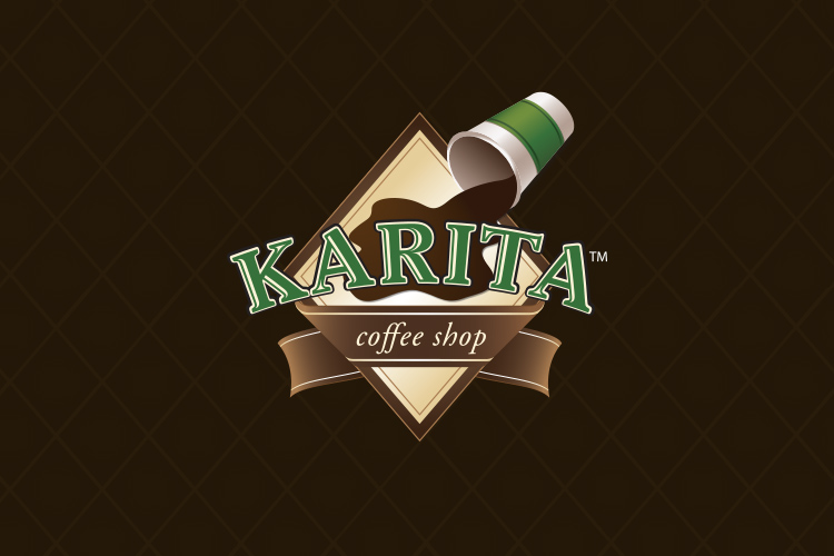 Karita Coffee Shop Logo Design and Development