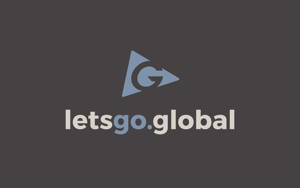 Let's Go Global Logo Design