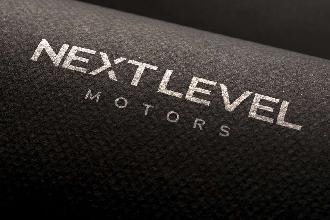 Luxury Vehicle Logo Design, Next Level Motors