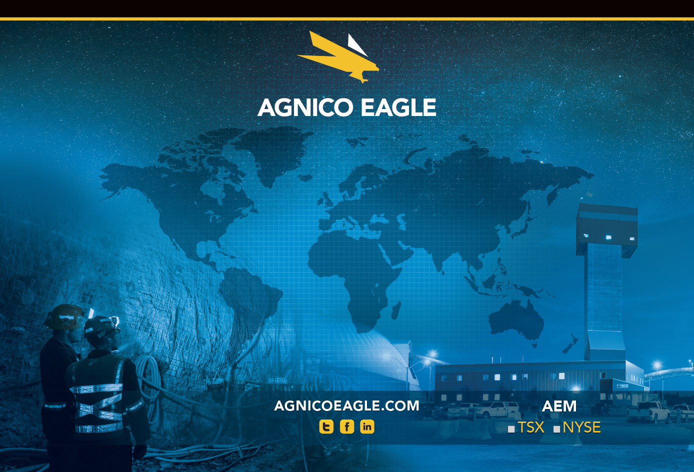 Tradeshow Booth Design for Agnico Eagle Mining, Canada