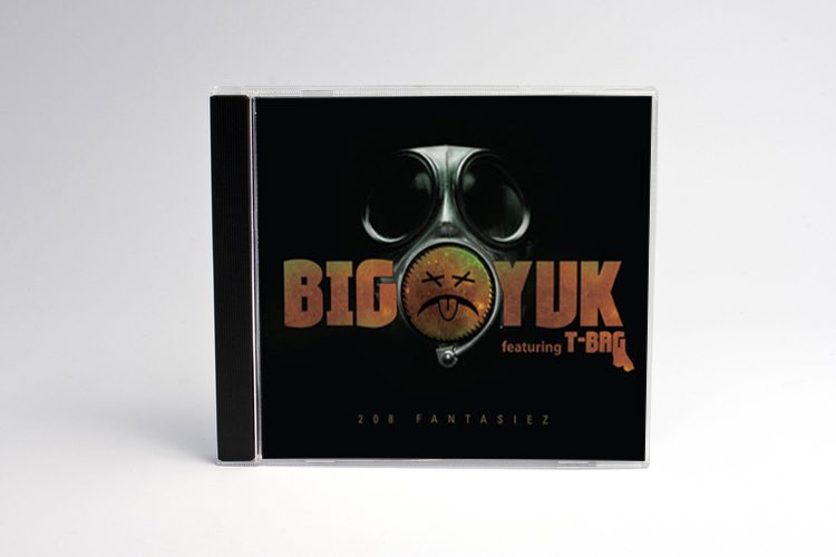 Musical Album CD Design for Big Yuk