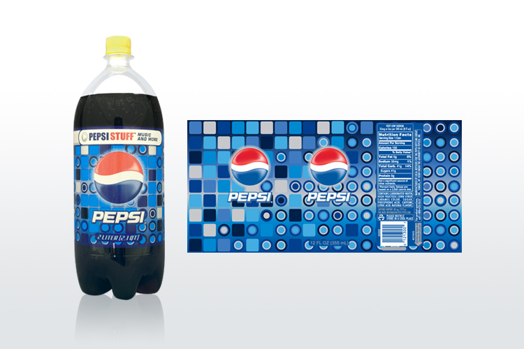 Pepsi Bottle Packaging Design
